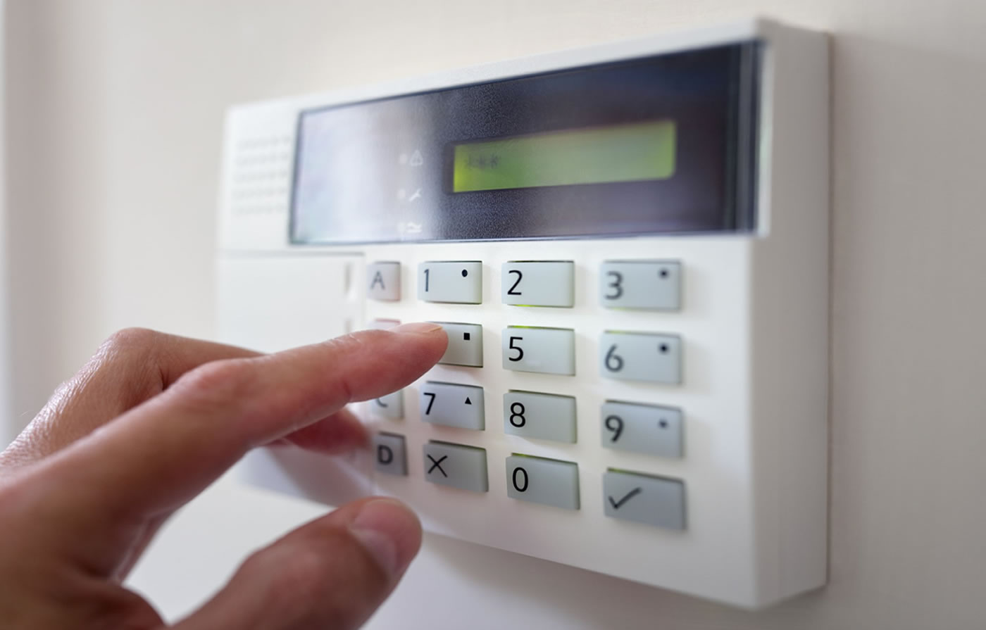 False alarm keypad
